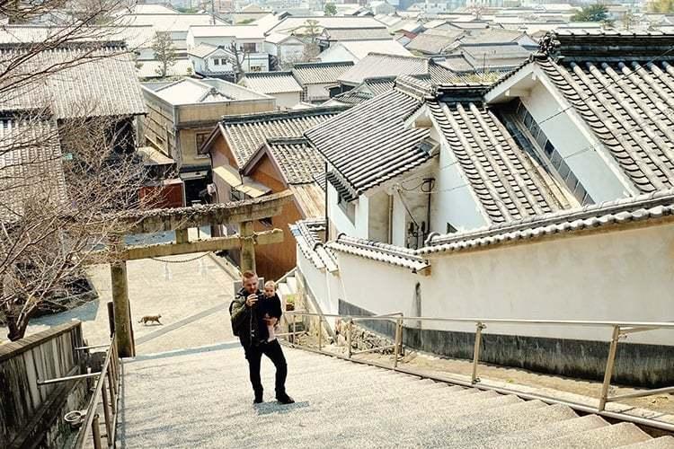 Rooftops of Kurashiki Japan