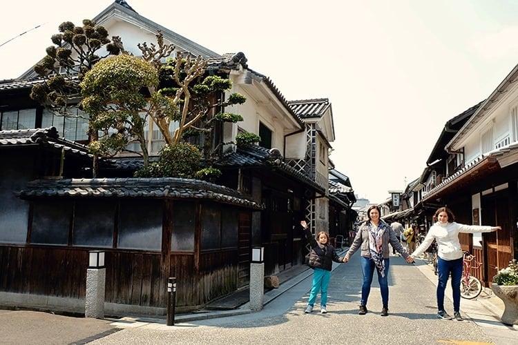 Visiting Kurashiki Japan