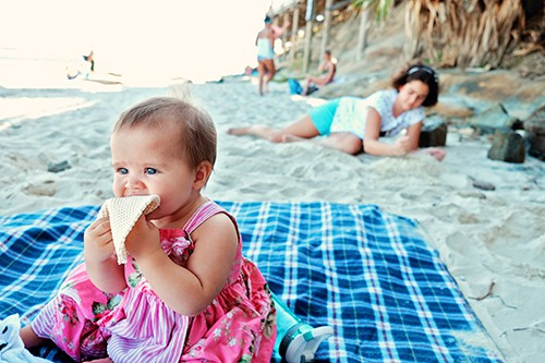 best baby beach gear