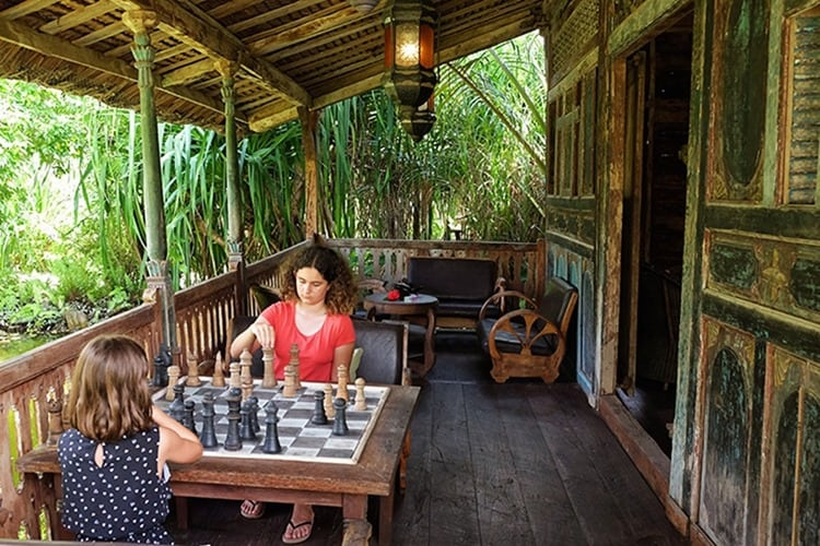 Game Room at Ratua Private Island