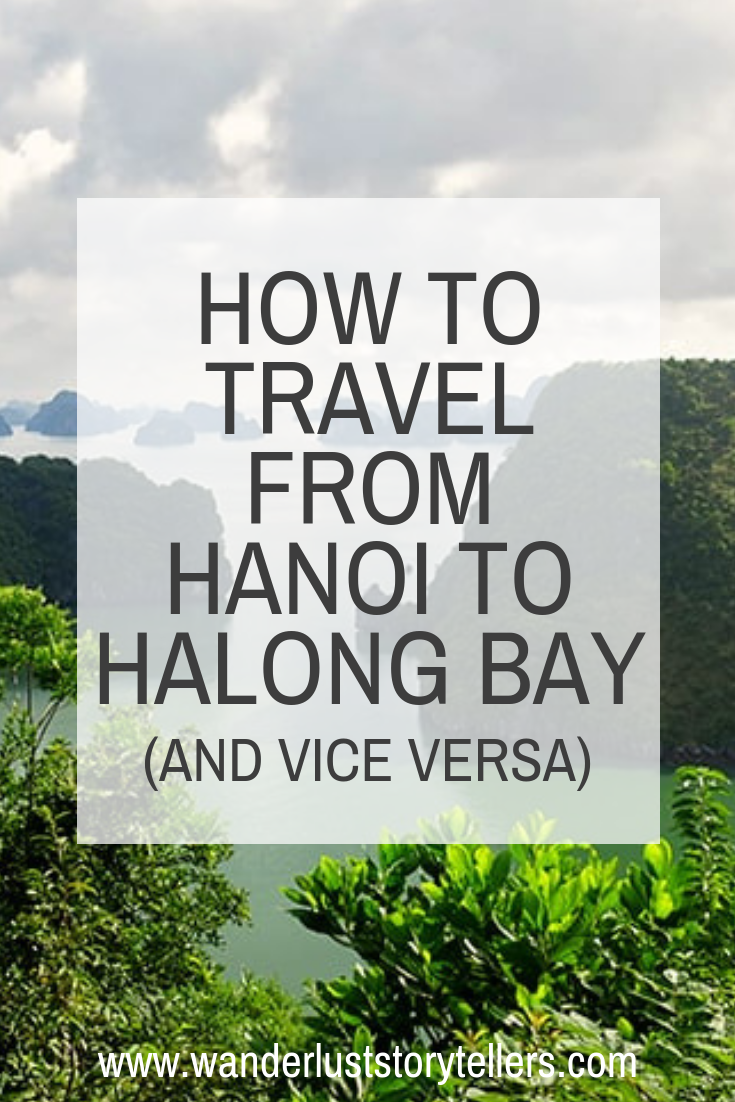 How to get to Halong Bay from Hanoi Vietnam Travel