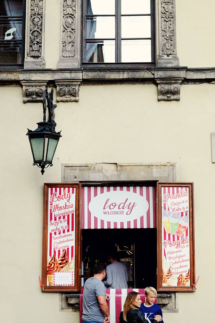 Polish Lody Ice Cream Shop