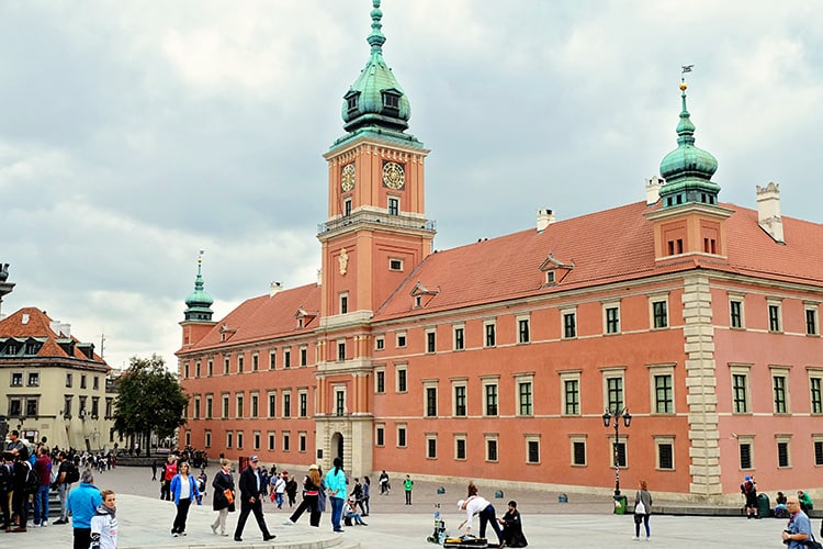 Warsaw Royal Castle Poland