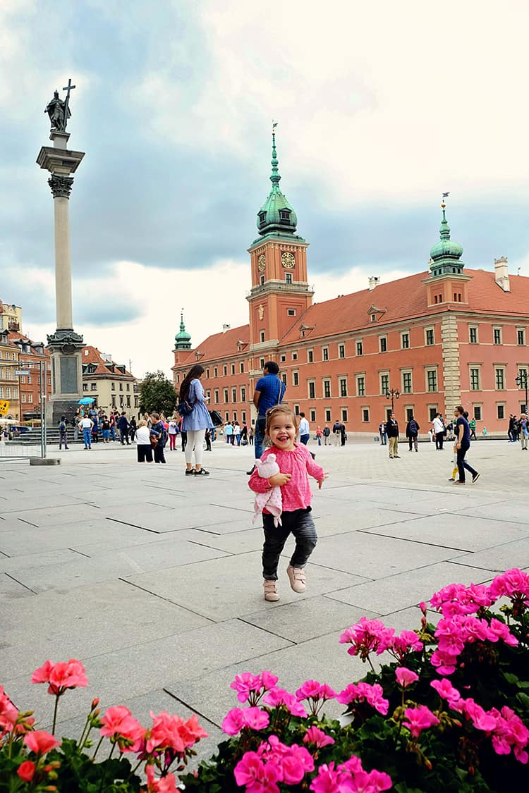 Warsaw Royal Castle and Sigismund's Column