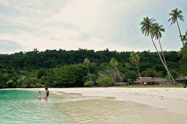 Champagne Beach Espiritu Santo Island Vanuatu