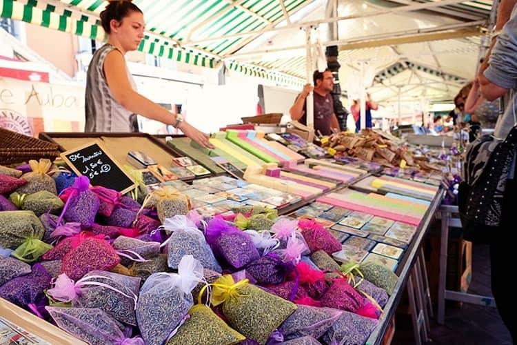 Cours Saleya Market in Nice