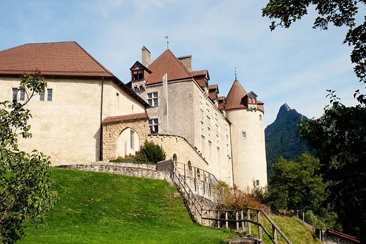 Gruyères Castle Switzerland