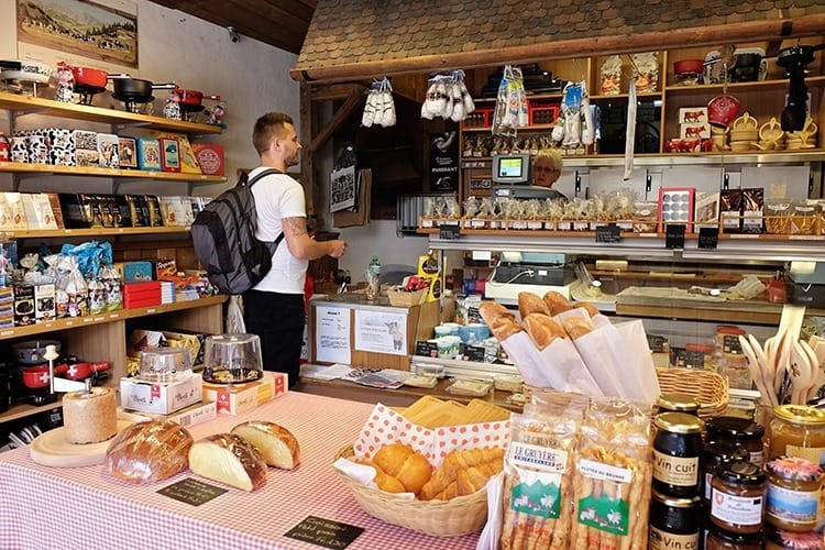 Gruyeres Cheese Shop, France