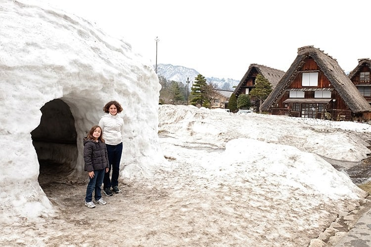 Igloo at Shirakawa Go Village