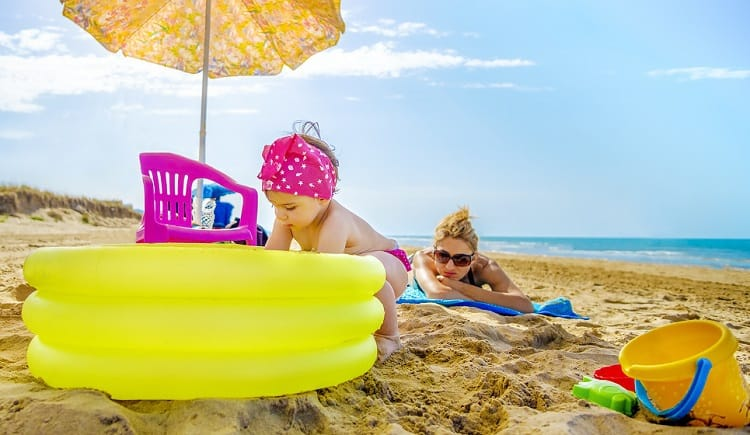 Inflatable Beach Pool