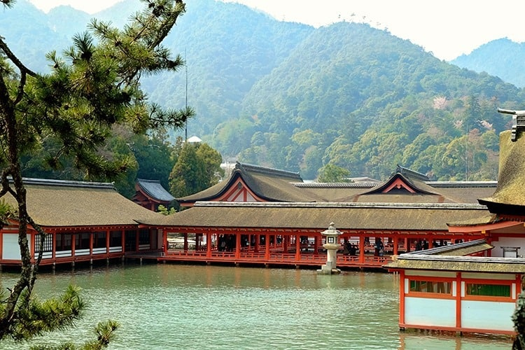 Itsukushima Shrine Japan