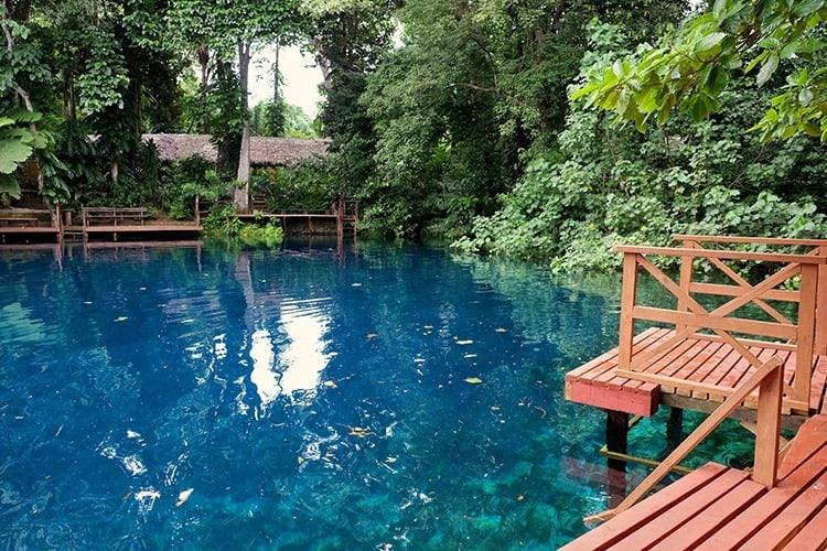 Nanda Blue Hole Santo Island Vanuatu