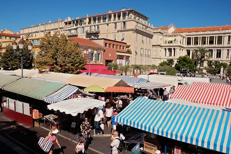 Nice Cours Saleya Market