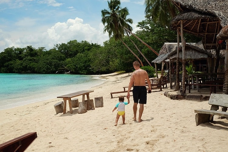 Port Orly Santo Island Vanuatu