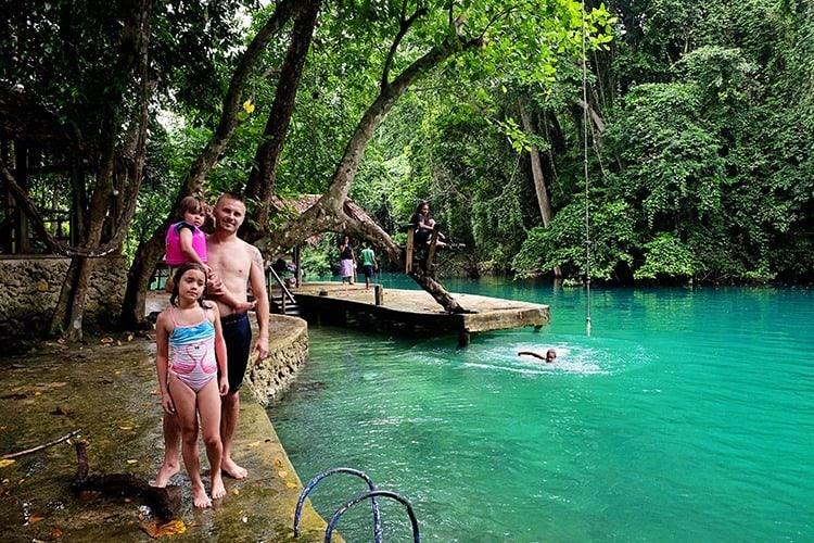 Riri Blue Hole Santo Island Vanuatu