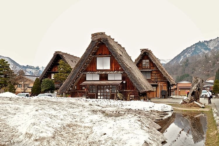 Shirakawa Go in Gifu Japan Feature