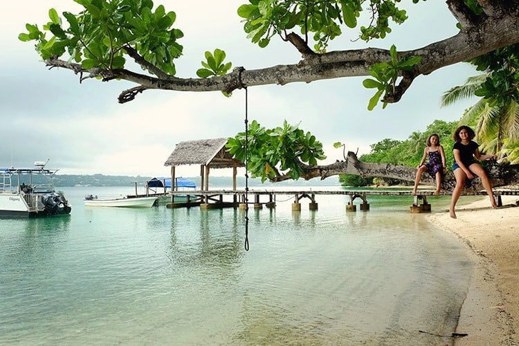 Vanuatu with Kids Accommodation