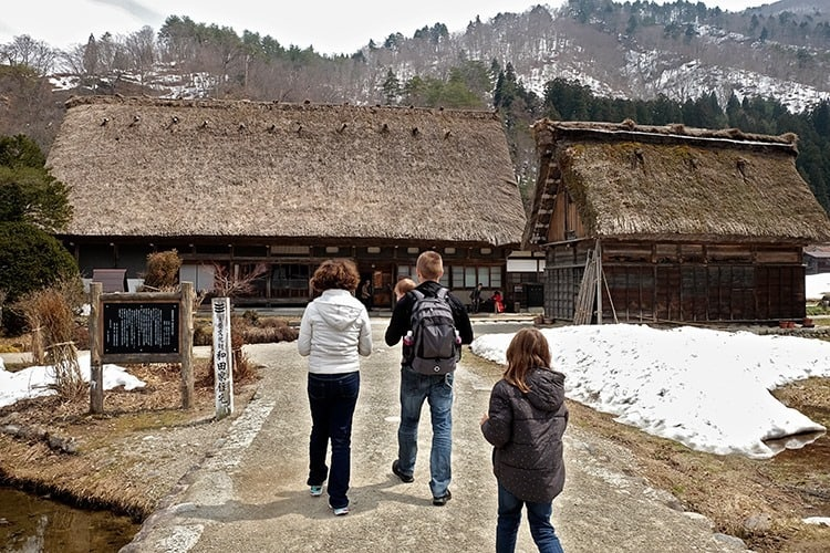 Wada House in Shirakawago