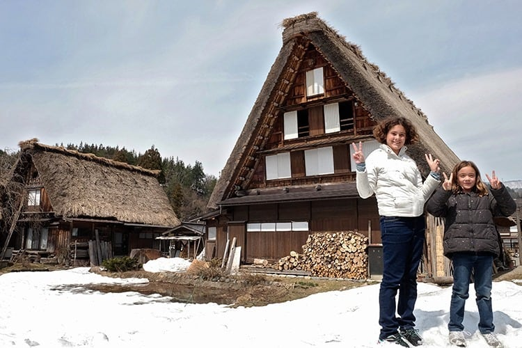 shirakawago april