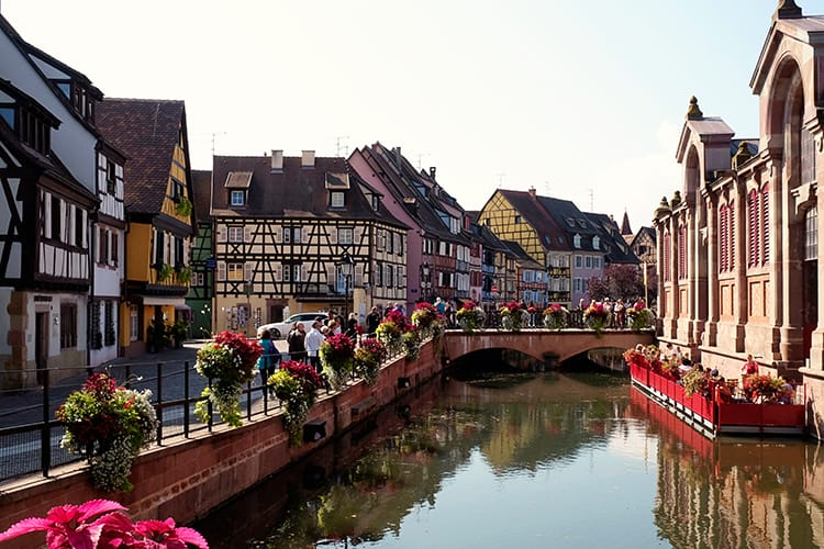 Alsace City Colmar Old Town