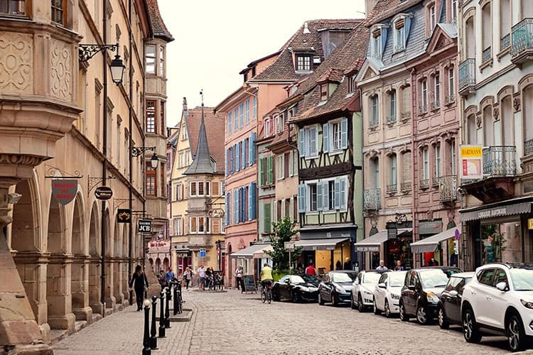 Alsace Villages Colmar in France.jpg