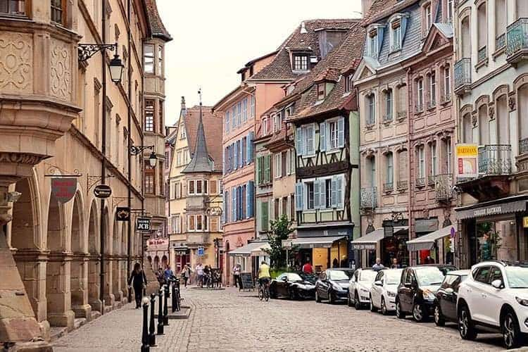 Alsace Villages -Colmar in France