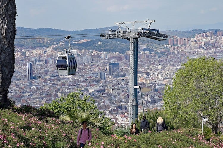Montjuïc Cable Car with Kids