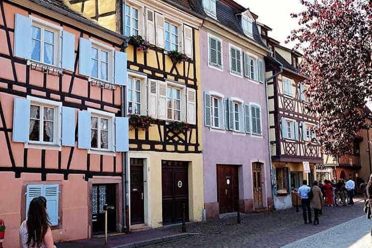 Colmar, Alsace in France