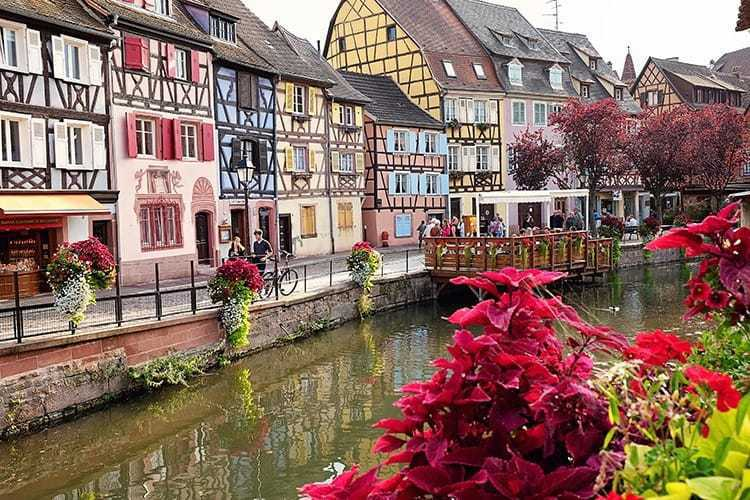 Colmar - villages in Alsace, France