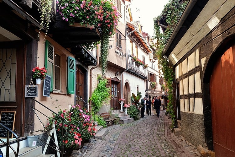 Eguisheim Alsace Village in France