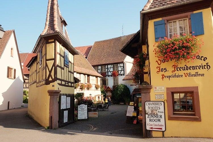 Eguisheim Village in France