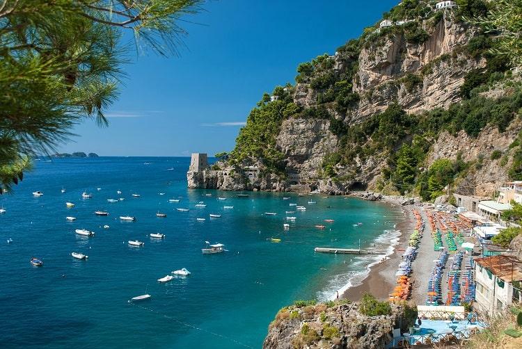 Fornillo Beach Positano Amalfi Coast