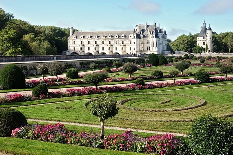 Gardens of Chenonceau Chateaux