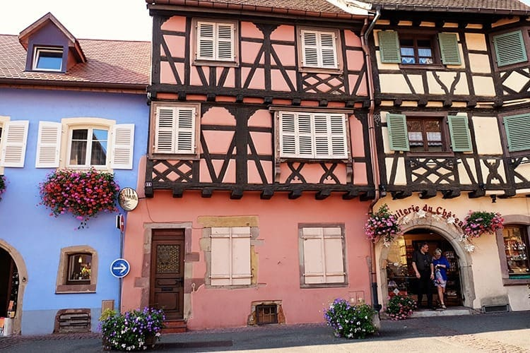 Houses in Eguisheim Village