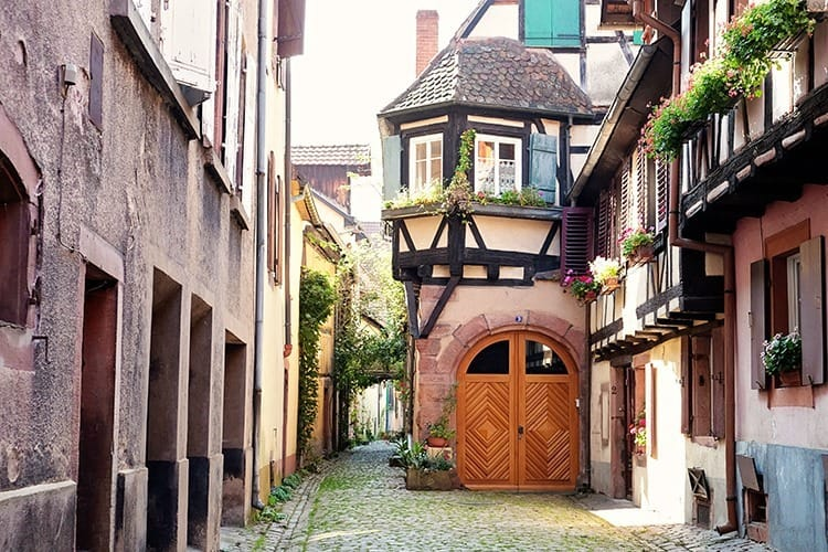 Kaysersberg Alsace Village in France