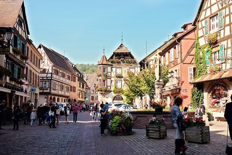 Kaysersberg in Alsace France