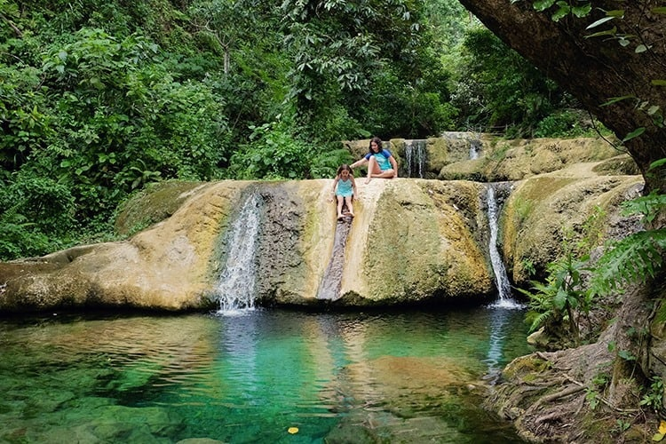 Mele Cascades Waterfall Efate Island