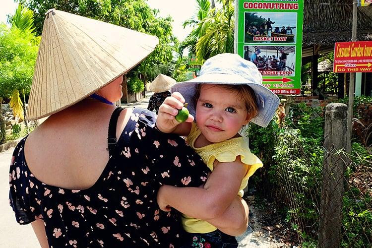 Phap Tran Hoi An basket boat tour