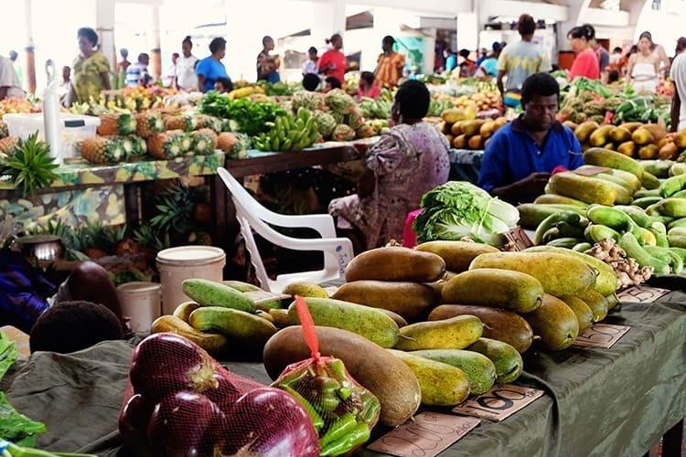 Port Vila Markets in Efate, Vanuatu