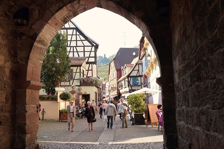 Ribeauvillé Alsace Village in France