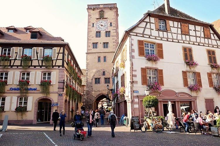 Ribeauvillé Village in Alsace France