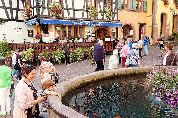 Riquewihr Alsace Village in France