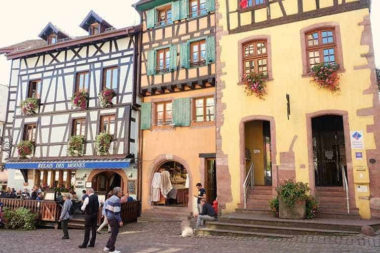 Riquewihr Village in Alsace France