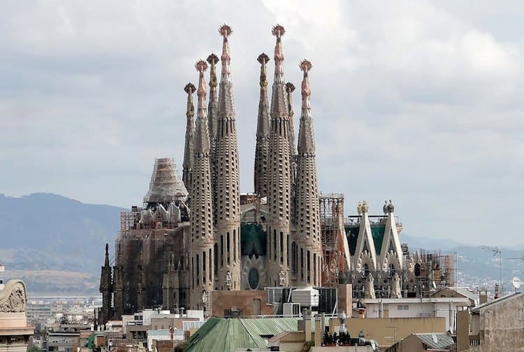 Sagrada Familia with Kids