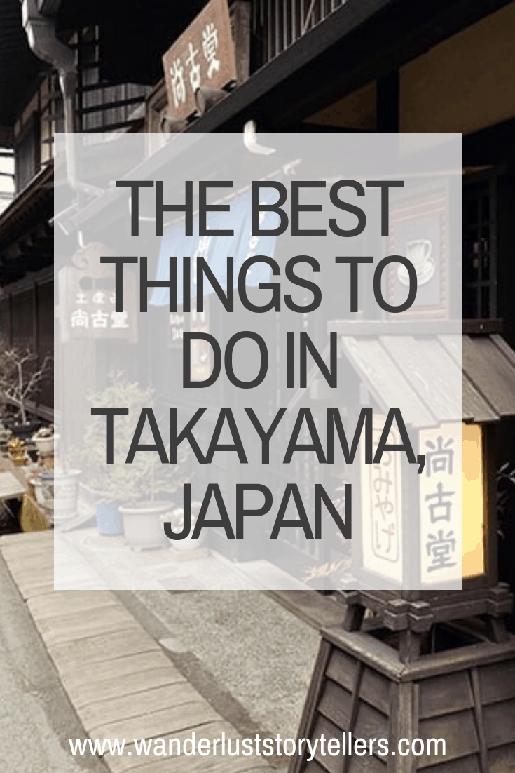 Things to do in Takayama Japan