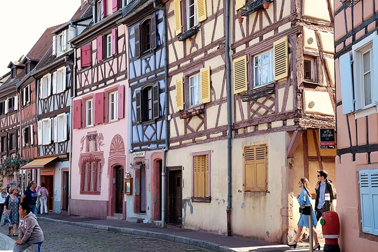 Visiting Colmar France