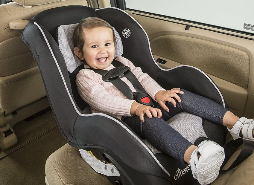 Evenflo Tribute Lx Convertible Travel Car Seat Review