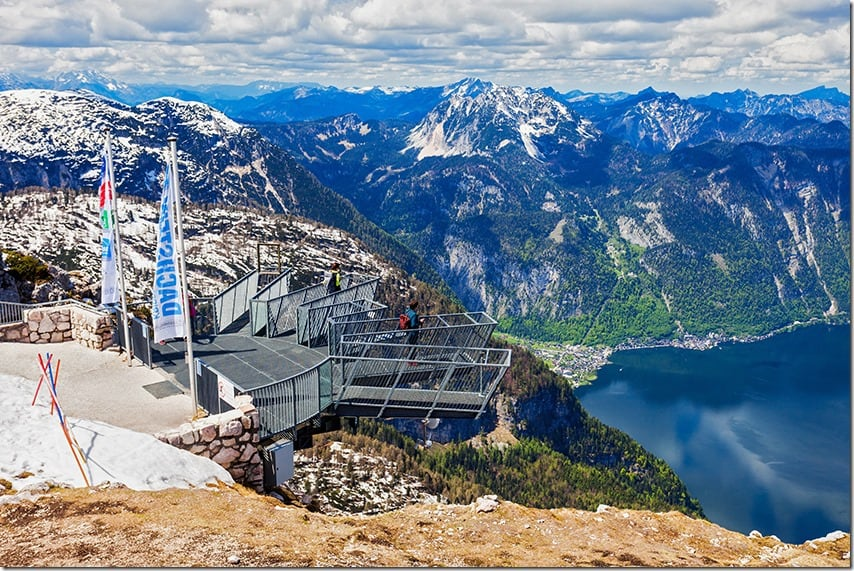 5 Finger Dachstein Mountains in Austria