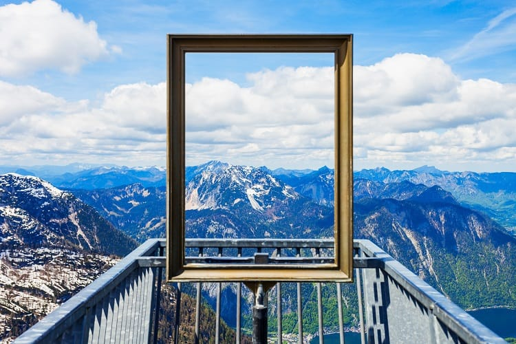 5 Fingers Viewing Platform near Hallstatt Austria