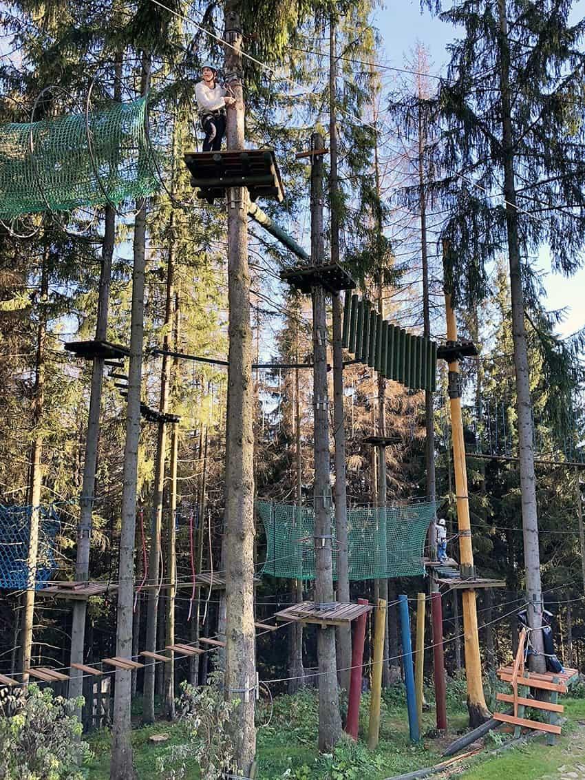 Rope Course in Gabalowka Zakopane